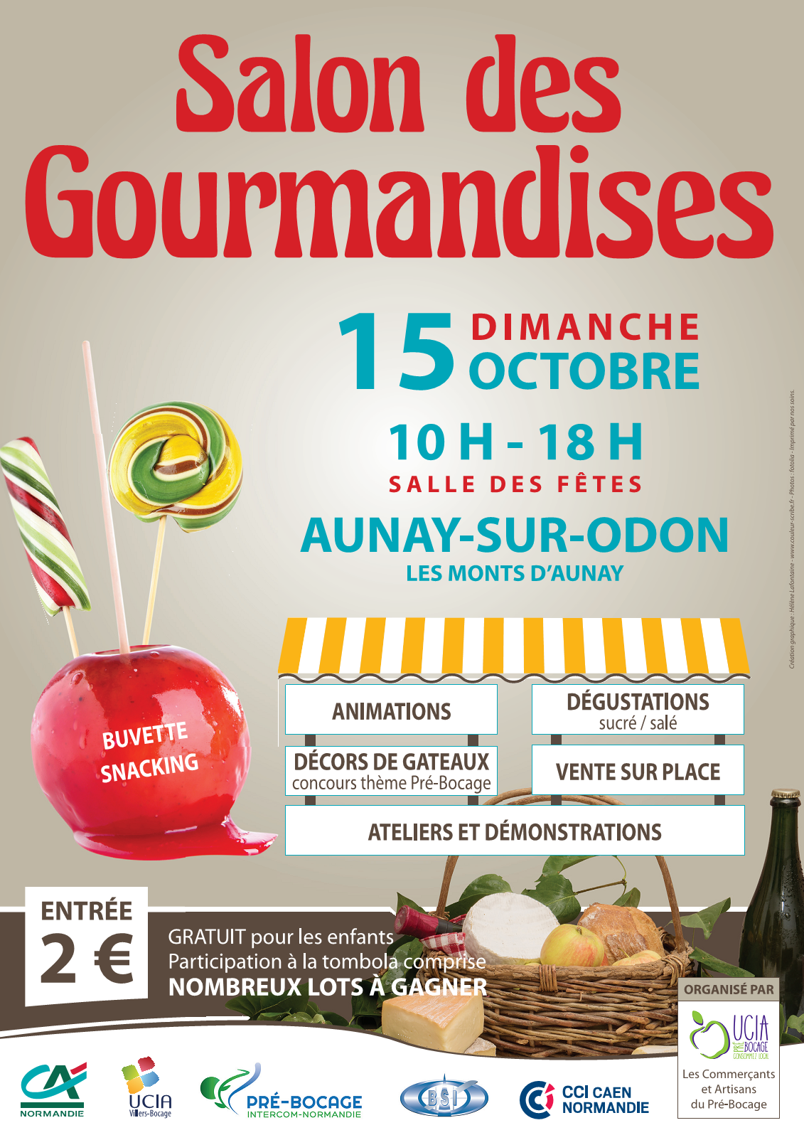 2017 salon des gourmandise