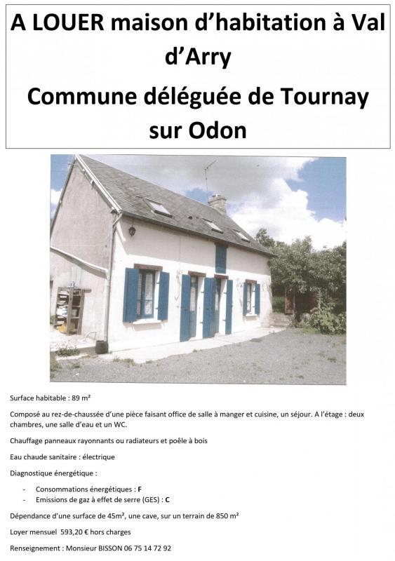 A louer maison tournay