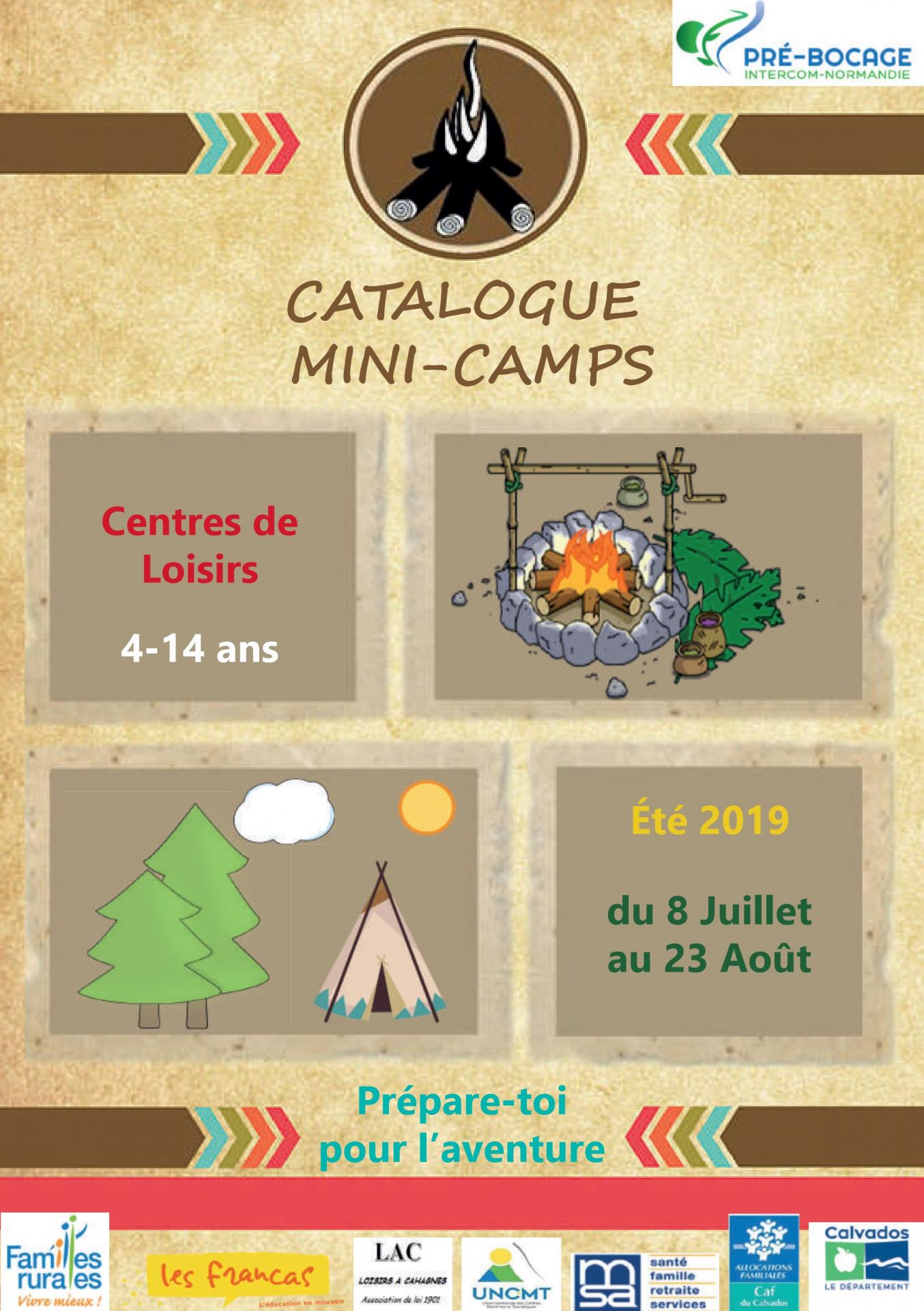 Catalogue mini camps une