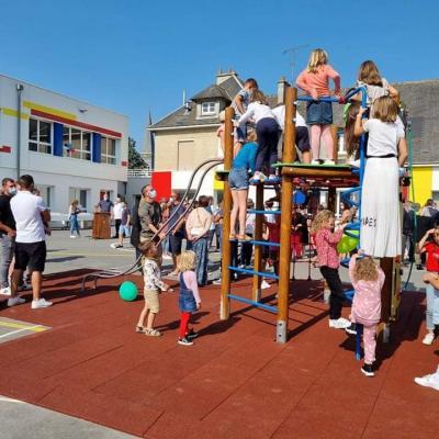 Inauguration de l'école de VAL D'ARRY (04/09/21)