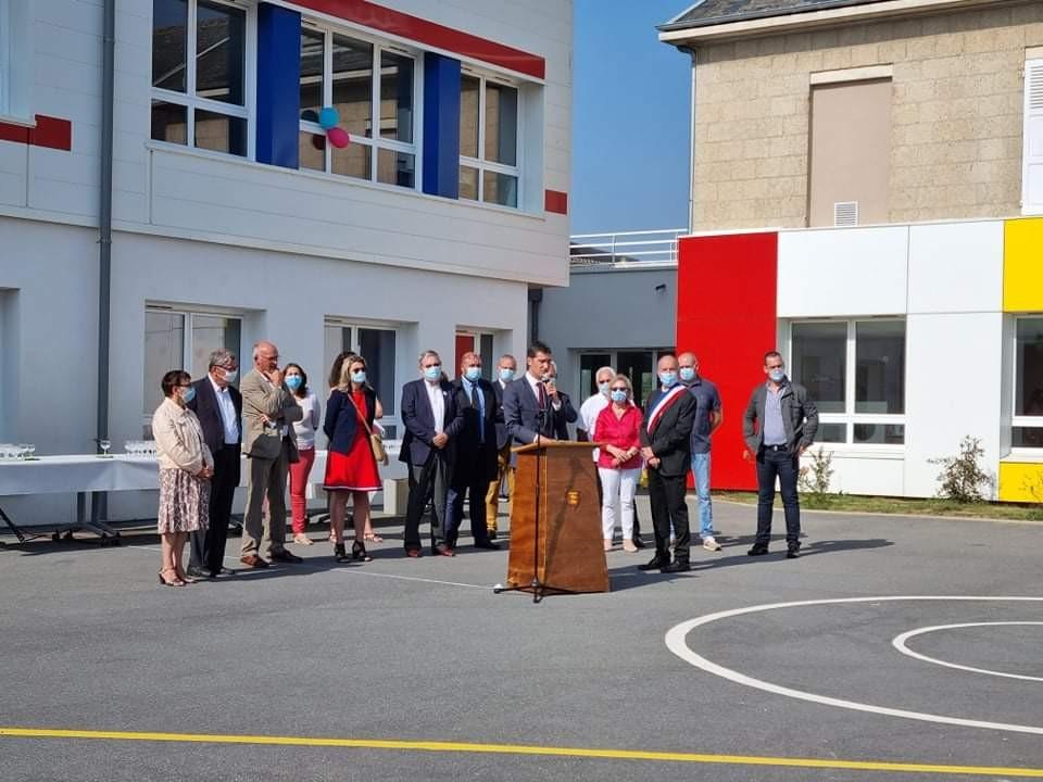 Inauguration école discour