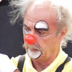 Mr la clown des  Blue Pock