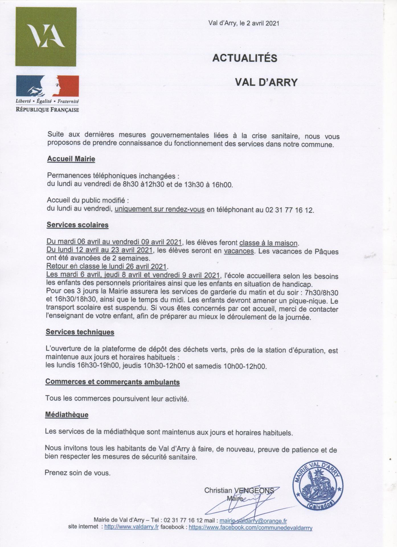 20210403 reorganisation sur la commune