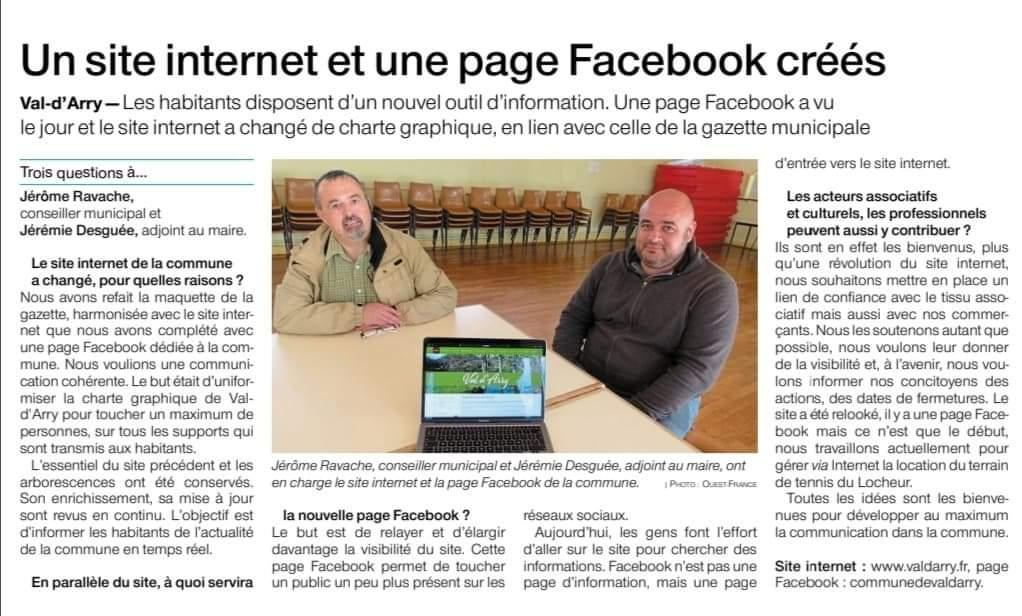 20210516 of site internet et facebook