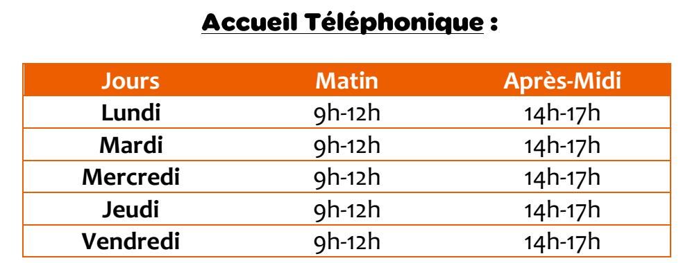 Accueil telephonique pbi