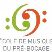 Logo ecole de musique du pre bocage