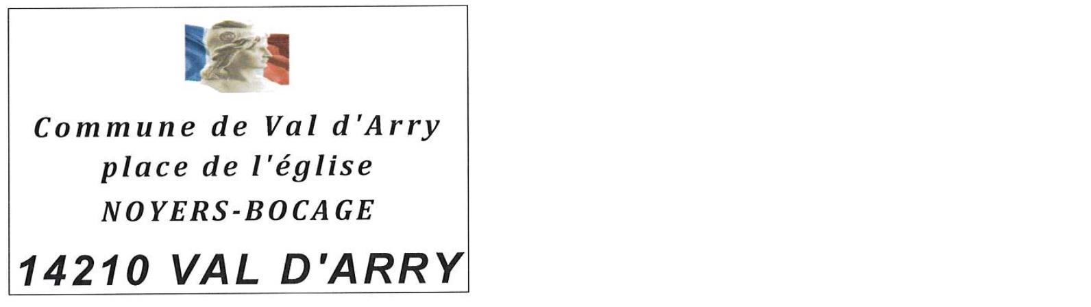 Logo mairie de val d arry