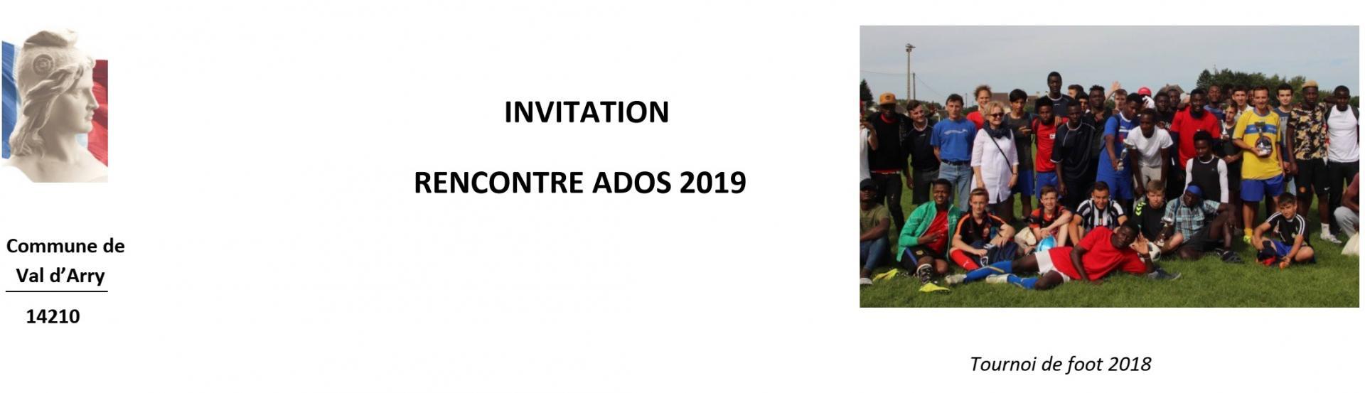 Rencontre ados 2019 header